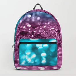 Tropical Beach Lady Glitter #5 #shiny #decor #art #society6 Backpack