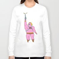 he man Long Sleeve T-shirts featuring He-man by Graphic Airlines