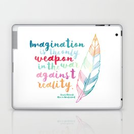 Alice In Wonderland | Quote 1 Laptop & iPad Skin