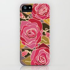 With The Roses iPhone (5, 5s) Slim Case