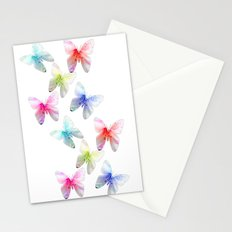 Colorful flowering butterflies. Floral photo art. Stationery Cards