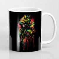 soldier Mugs featuring modern soldier by barmalisiRTB