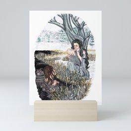 The ash tree sign Mini Art Print