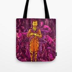 Adam in Wonderland Tote Bag