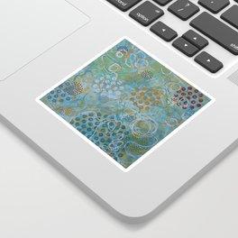 Psychedelic Sea Sticker