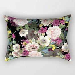 Midnight Botany Rectangular Pillow