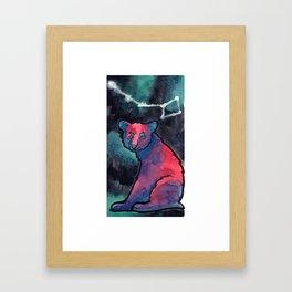 Constellation Ursa Minor Framed Art Print