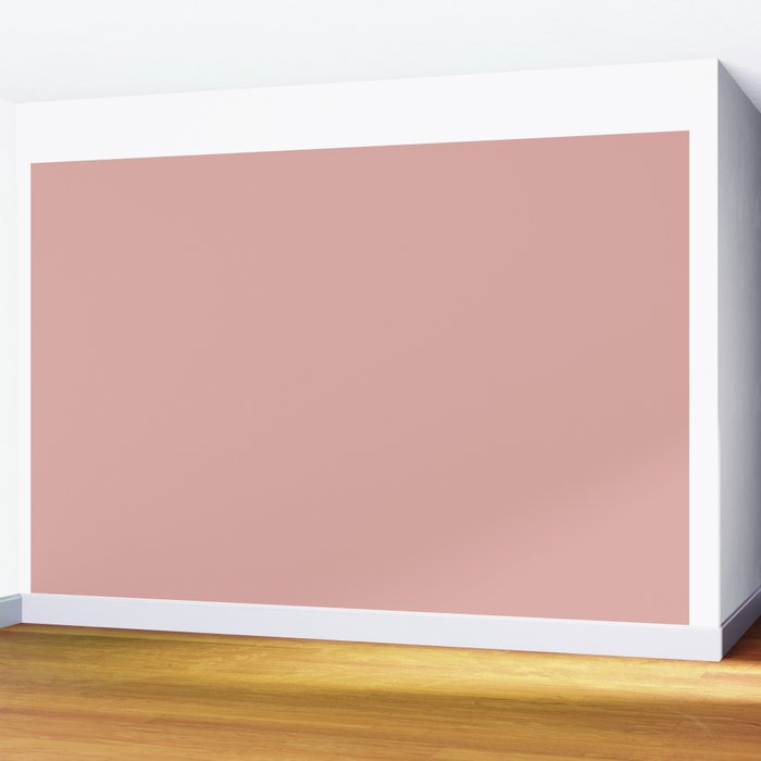 Mellow Rose   Pantone Fashion Color   Autumn : Winter 2018   London   Solid Color   Wall Mural