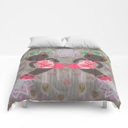 double trouble Comforters