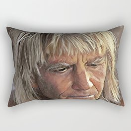 George Greenough Portrait Rectangular Pillow