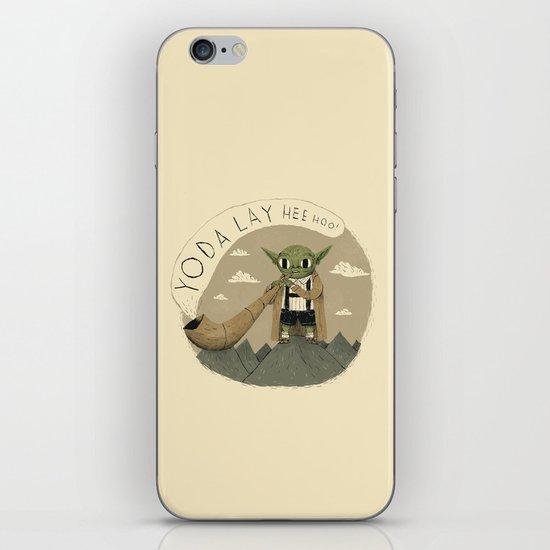 yodaling  iPhone & iPod Skin