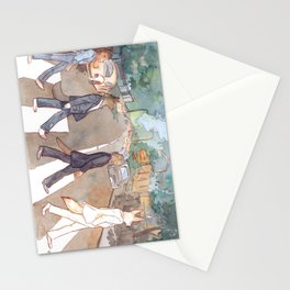 Abbey Furry Road Stationery Cards
