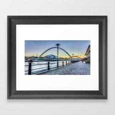 Newcastle Quayside Framed Art Print