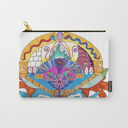 Blue Monkey Mind State Carry-All Pouch