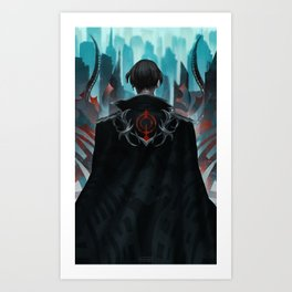 The Architect Art Print