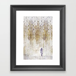 Birchwood Framed Art Print