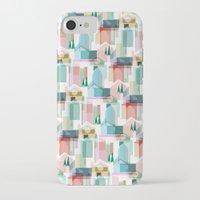 bath iPhone & iPod Cases featuring Bath by Coral Elizabeth Design