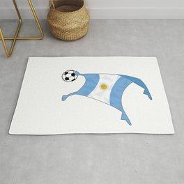 Argentina Flag Football Cup Soccer 2018 Dabbing World Rug