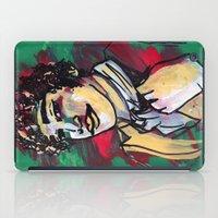 gentleman iPad Cases featuring Gentleman  by Tamara Jane Lenz