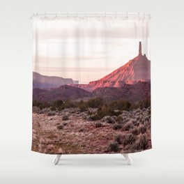 Spire and Mesa Shower Curtain