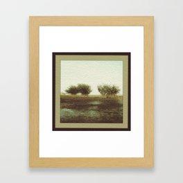 Mangrove Flats Framed Art Print