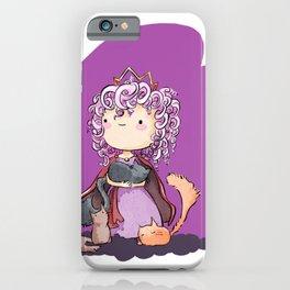 Rose - Curly hair princess iPhone Case