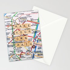Make Your Own Path Stationery Cards
