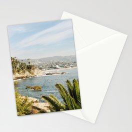 Laguna Beach Print  Stationery Cards