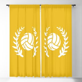The Volleyball II Blackout Curtain