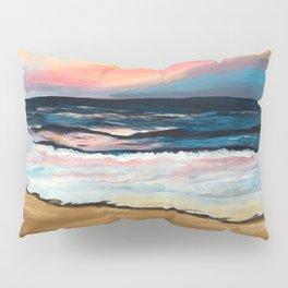 """""""OBX Sunset"""" Beach Art Pillow Sham"""