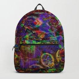 the unique mandala Backpack