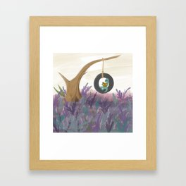 Dinosaurs Like Books Too - An Ode To Mary Anning Framed Art Print