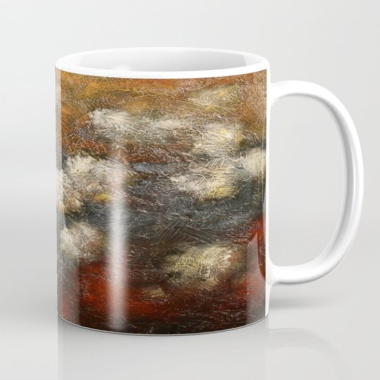 Golden Blossoms Mug