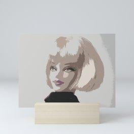 Femme Fatale Portrait Mini Art Print