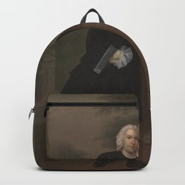 Arthur Devis - An Unknown Man with His Daughter (1748) Backpack