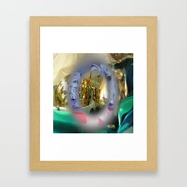 colors mugs gold Framed Art Print