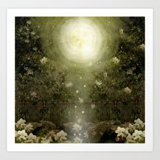 The Great Lie, Forest Art Print