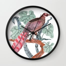 Pheasant Bird Wall Clock