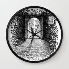 Light - Black ink Wall Clock