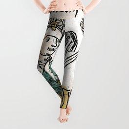 Judith and Holofernes Leggings