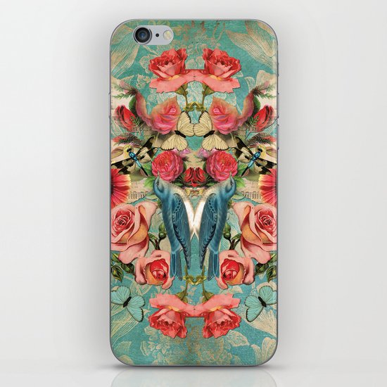 Birds of a Feather 1 iPhone & iPod Skin