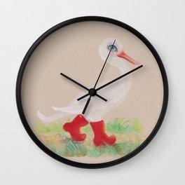 a Snozzleberry Swan excursion Wall Clock