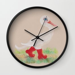 a Snozzleberry Swan excursion Wall Clock