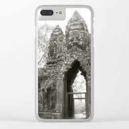 Daydreaming in the historical Cambodian Angkor Was National Park Clear iPhone Case