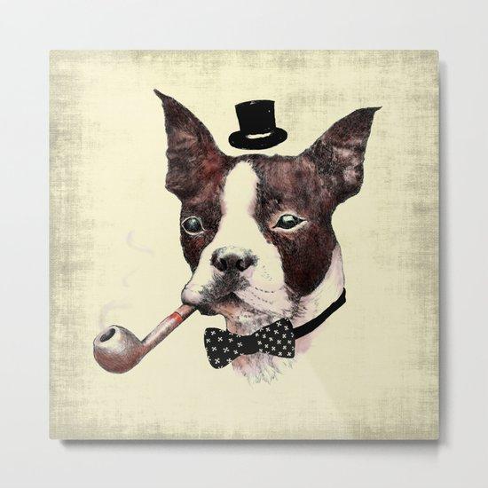 Mr. Bulldog Metal Print