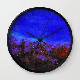 """Moonlight"" Digital Painting // Fine Art Print Wall Clock"
