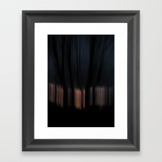 Night vs Day Framed Art Print