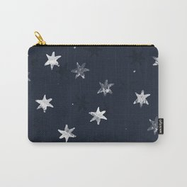 Stamped Star Pattern Carry-All Pouch