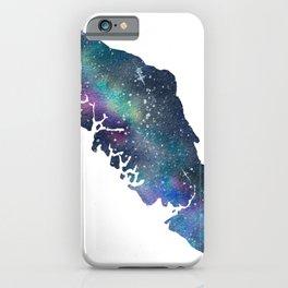 Vancouver Island - Watercolor Galaxy iPhone Case