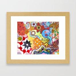 Fishhead Framed Art Print